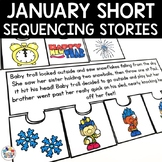 Sequencing Stories with Pictures for January
