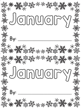 January Sight Word Book