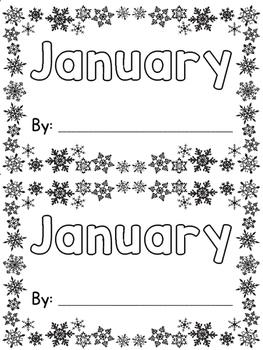 January Sight Word Book