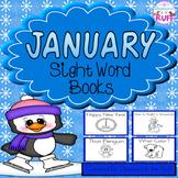 January Sight Word Books