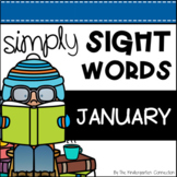 January Sight Word Games and Centers - Editable