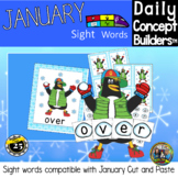 January Sight Words