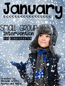 January Small Group Intervention for Kindergarten