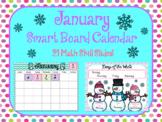 January Smart Board Calendar