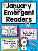 January Snow Emergent Readers {Kindergarten}