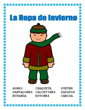 January Spanish Calendar-Days of the Week/Holidays/Reyes Magos/Winter Clothes