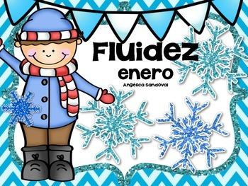 January Fluency Passages in Spanish fluidez de enero