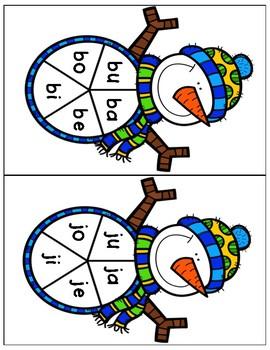 January Spanish Literacy Centers-Kinder