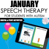 January Speech Therapy