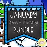 January Speech Therapy Bundle