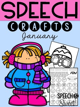 January: Speech Therapy Crafts