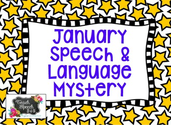 January Speech/Language Mystery