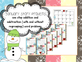 January Story Problems