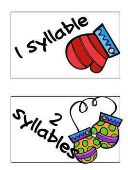January Syllable Sort