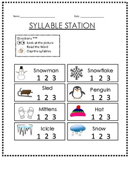 January Syllable Station