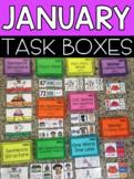 January Task Boxes