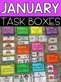 January Task Boxes
