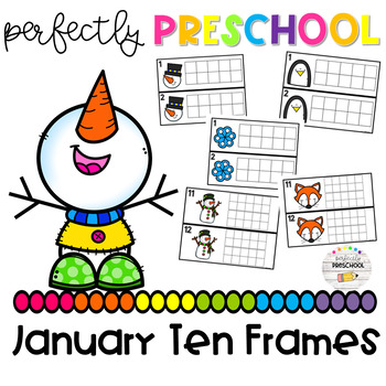 January Ten Frames