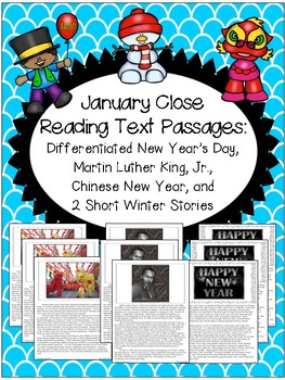 January Text Passages for Close Reading