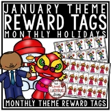 January Theme Brag Tags [Martin Luther King Jr, New Years