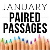 January Themed ELA Paired Passages with Writing Prompts |