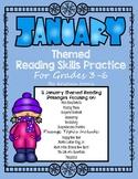 January Themed Reading Skills Practice