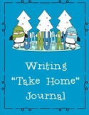 January Themed Take Home or Classroom Writing Journal