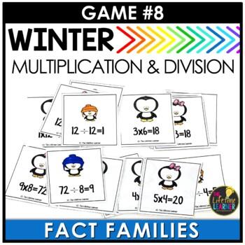 January Third Grade Math Centers BUNDLE