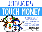 January Touch Money Task Cards