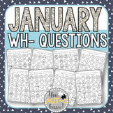 January WH- Question Dauber Pages