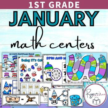 January Winter Math Centers