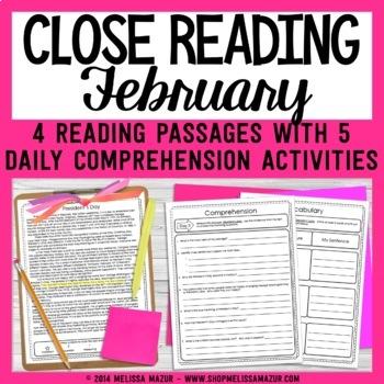 Close Readings - February