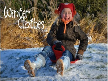 January Winter Clothes Vocabulary Lesson Plans