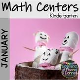January Math Centers Kindergarten