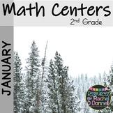 January Math Centers Second Grade