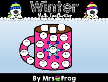 January / Winter Math Craftivities