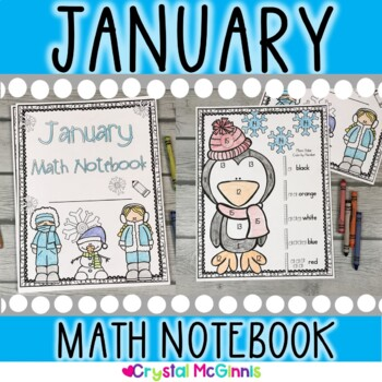 January Winter Math Notebook (Math for the Entire Month!)