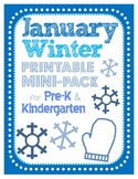 January Winter Mini-Unit for Centers