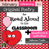 February Winter Poetry Unit & Inferencing Activities