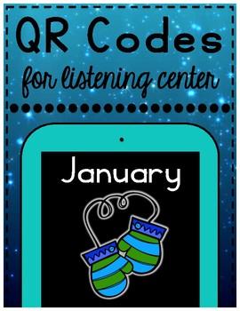 January/Winter QR Codes for Listening Center