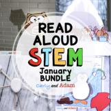 January Winter Read Aloud STEM Activities BUNDLE