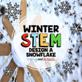 Design a Snowflake January Winter STEM Activity / Winter STEM Challenge