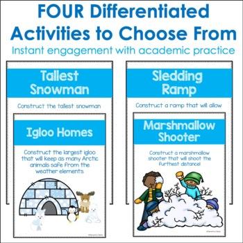 Winter Activities for STEM | January STEM Activities