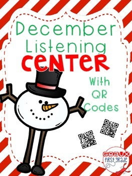 January Winter iPad Listening Center with QR Codes