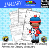 Cut and Paste January Activities