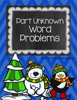 January Word Problems that encourage MATH TALK!