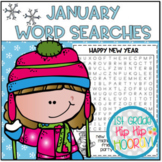 January Word Searches...Print and Go