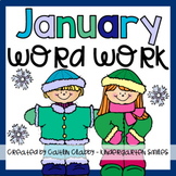 Word Work: January