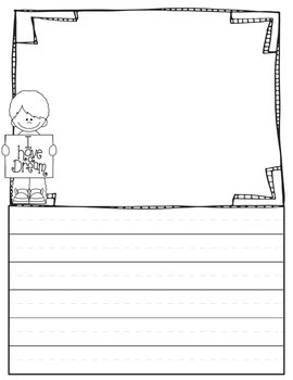 January Words & Writing Mini Pack -visual style