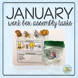 January Work Box Assembly Tasks